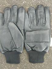 northern ireland padded back british army  style leather  gloves xx large uk 11