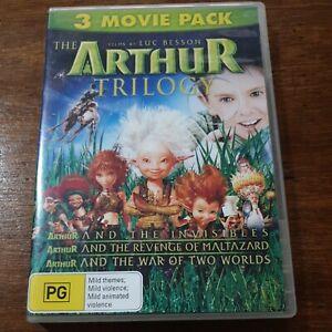 Arthur Trilogy DVD R4 Like New! FREE POST