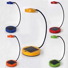 IKEA SUNNAN Lampe solarbetriebene wiederaufladbare flexible Schreibtischlampe