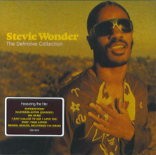 Stevie Wonder : The Definitive Collection (CD)