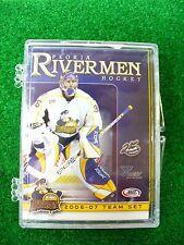 '06-07 AHL Peoria Rivermen Team Hockey Card Set St Louis Blues ECHL Alaska Aces