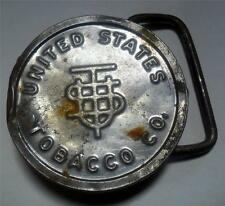 Vintage Antique? OOAK United States Tobacco Co. Belt Buckle Hand Made LOOK SP