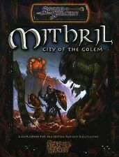 MITHRIL CITY OF THE GOLEM VF! Sword Sorcery Scarred Lands Dungeons Dragons