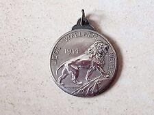 Médaille jeton honneur LIEGE WAELHEM NIEUPORT 1919 Belgique medal medaglia