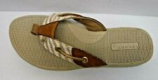 Sperry Top Sider Size 5.5 Gold Stripe Sandals New Womens Shoes