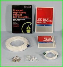 * Comcast Xfinity High-Speed Cable Modem Internet Self-Install Kit PC MAC NEW *