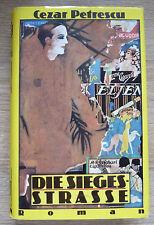 Cezar Petrescu - Die Siegesstrasse - Verlag der Nation 1982 - DDR