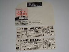 BAJA MARIMBA BAND 1969 UNUSED TICKETS Julius Wechter WILL CALL ENVELOPE KRNT Whi