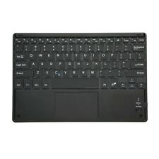 Schlank 81-Tasten Bluetooth-Tastatur mit Touchpad fuer Windows Android J2T9 Z2I8