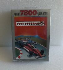 1986 ATARI 7800 NEW IN SEALED BOX NISB POLE POSITION II 2 VIDEO GAME