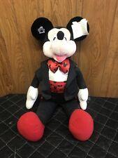 "Vintage Mickey Mouse Plush Applause 24"" The Enchanted Season Tux Fancy Disney"