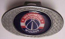 Trailer Hitch Cover NBA Basketball Washington Wizards NEW Diamond Plate Metal