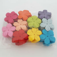 100 Paper Flowers Scrapbook Cardmaking Birthday Party Craft Supply ZQP20-427