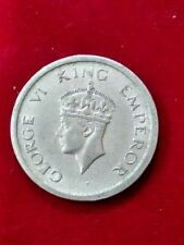 1 ONE RUPEE COIN.1947 - BRITISH INDIA IN FINE CONDITION @ VERY LOWEST PRICE