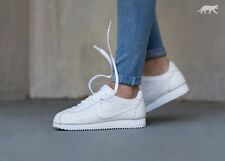 UK 5 Nike Classic Cortez Leather Premium White Trainers EUR 38.5 US 7.5 Sneakers