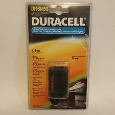 Duracell DR-SM50 Rechargeable Accu Li-Ion Battery For Selected Sony Camcorders