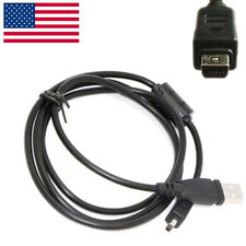 USB Charger Data SYNC Cable Cord For Olympus u Stylus Tough TG-310 TG-860 Camera