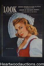 Look Mar 9, 1943 Fred Allen, Jack Benny, Coleman Hawkins, WWII - High Grade