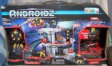 ANDROIDZ FIREPOST 15 BONUS PLAYSET W/ VEHICLE & 3 ROBOTS TOYS R US EXCLUSIVE