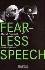 Fearless Speech Michel Foucault Paperback Book Good