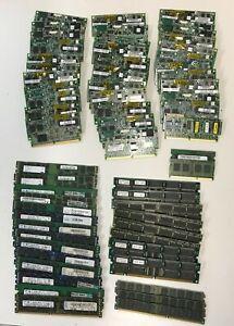 Job Lot approx 60 Mix Scrap RAM Memory for repair or Gold recovery 1kg