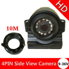 4Pin Plug Rear View Backup Reversing Parking Camera for Car Truck Lorry 12V 24V