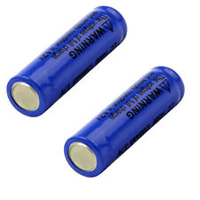 2pcs 14500 3.7V 1200mAH Lithium Li-ion Rechargeable Battery Batteries From USA