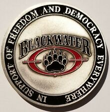 BLACKWATER ParaMilitary Training & Security Solutions XE SERVICES ACADEMI Coin