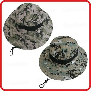 CAMO CAMOUFLAGE FISHERMAN'S HAT BUCKET IRISH COUNTRY SESSION HAT-ADVENTURE ARMY2
