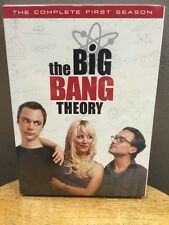 Big Bang Theory - The Complete First Season (DVD, 2008, 3-Disc Set) NEW!!