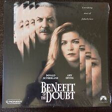 BENEFIT OF THE DOUBT on LASERDISC Donald Sutherland [LV15120] IN SHRINK