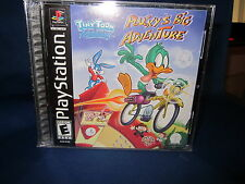 Sony PlayStation ps1 Tiny Toon Adventures Plucky's Big Adventure Video Game