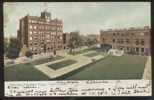 Postcard Brooklyn New York/Ny Pratt Institute Campus Grounds Aerial view 1905