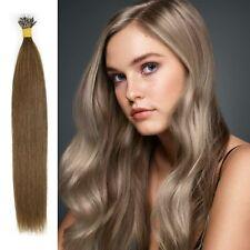 7A 14-22 Nano Ring Tip woman hair Beauty exuberant Human Hair Extensions UK