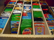 HUGE WAREHOUSE FIND OF VINTAGE UNOPENED BASEBALL CARD PACKS! BONUSES GALORE!
