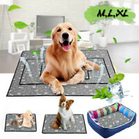 M/L/XL Size Pet Cooling Mat Cool Pad Comfort Cushion For Dog Cat Puppy Non-Toxic