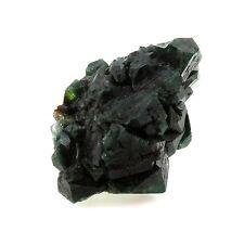 Celadonite après Apophyllite. 104.4 ct. Shakur Quarry, Maharashtra, Inde. Rare