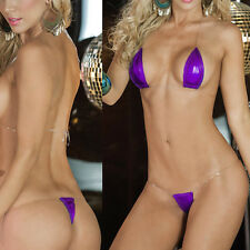 Women Lingerie Swimwear Micro Bikini G-String Thong Ladies Swimsuit Bra Set Mini