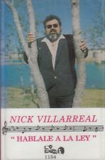 Nick Villareal Hablale A La Ley Cassette New Sealed