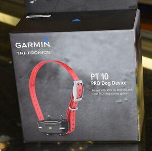 Garmin PT 10 PRO Dog Device - Red (010-01209-00)