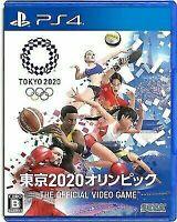 SEGA Olympic Games Tokyo 2020 Japanese Edition Video Game