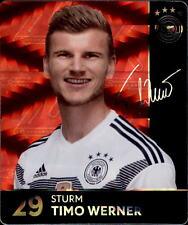 REWE WM 2018 Sammelkarten 29 - Timo Werner GLITZER