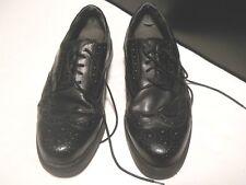 men size 11w  BAY TOWN black classic dress show lace up office wear wedding