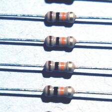 10K ohm 1/4 watt (0.25W) 5% carbon film (CF) resistors 50pcs US SELLER+Tracking