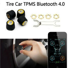 Auto Car TPMS Bluetooth Tire Pressure Monitor External Sensor For Android IOS