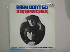 """SONNY & CHER/ CEASAR & CLEO:Baby Don't Go +3-Spain 7"""" 1965 Reprise Hispa EP PCV"""