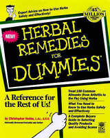 NEW Herbal Remedies For Dummies by Christopher Hobbs