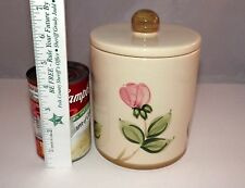 """Franciscan Desert Rose by Johnson Bros. Canister Jar 6 1/2"""" with Lid"""