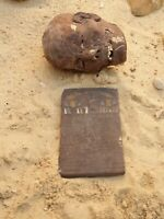 Rare Antique Ancient Egyptian Stela Boo Dead Funeral Fly Boat Universe 2480 BC