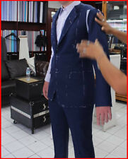 Italian Wool Custom Made to Measure Hand Tailored Bespoke Suit that fits